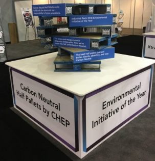 Environmental Initiative of the Year Award for CHEP at Industrial Pack 2018